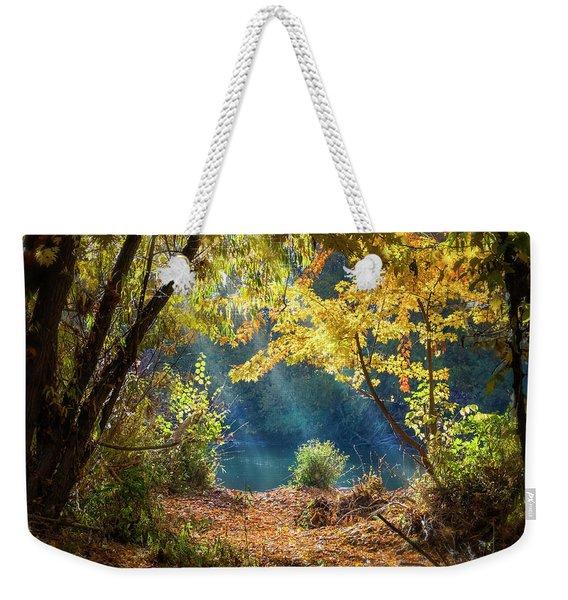 Filtered Light 3 Weekender Tote Bag