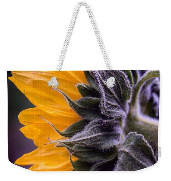 Filtered Sunflower Weekender Tote Bag