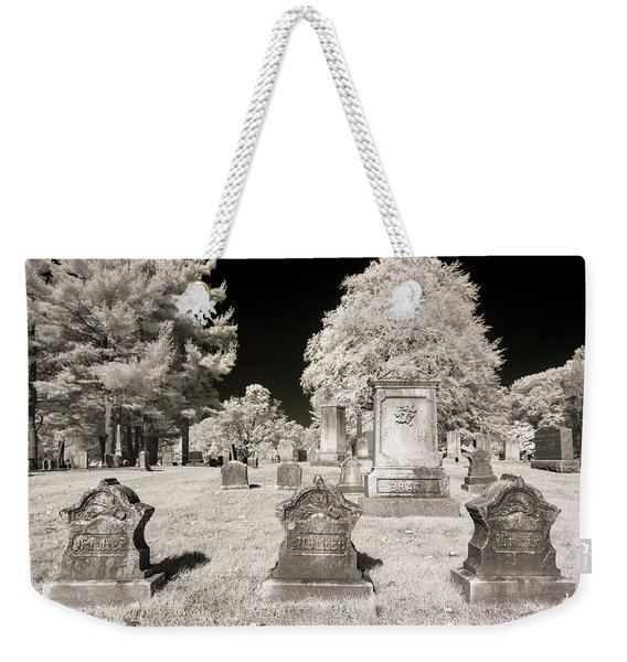 Weekender Tote Bag featuring the photograph Final Three by Brian Hale