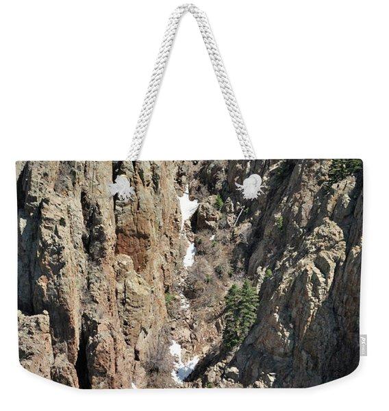 Final Traces Of Snow Weekender Tote Bag