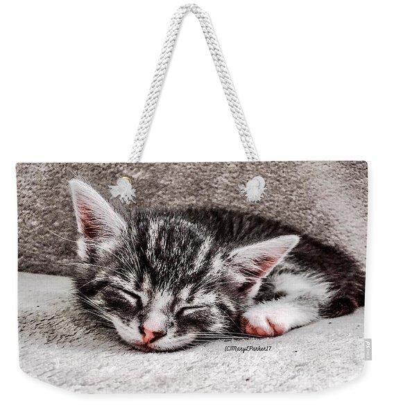 Finally Asleep  Copyright Mary Lee Parker 17  Weekender Tote Bag
