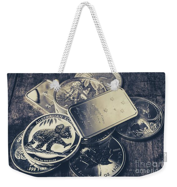 Finance And Commodities Weekender Tote Bag
