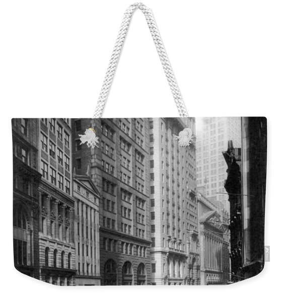 Financial Center, C1920 Weekender Tote Bag