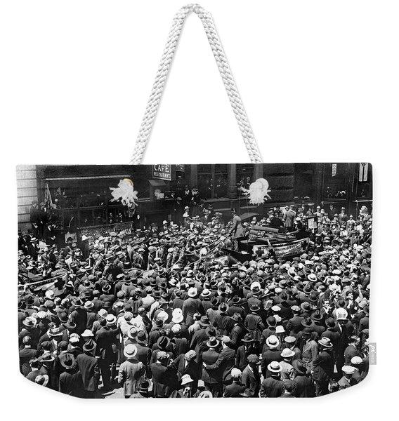 Financial District Showgirls Weekender Tote Bag