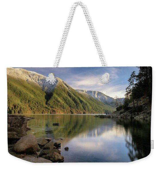 Finding Balance In Nature Weekender Tote Bag