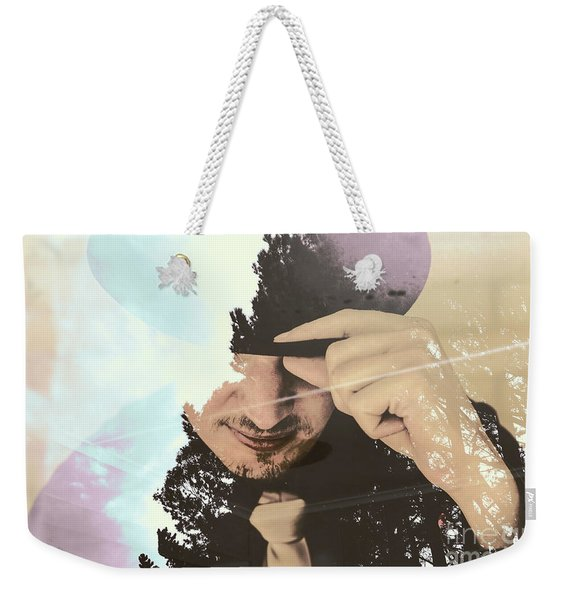 Finding Beauty Within Weekender Tote Bag