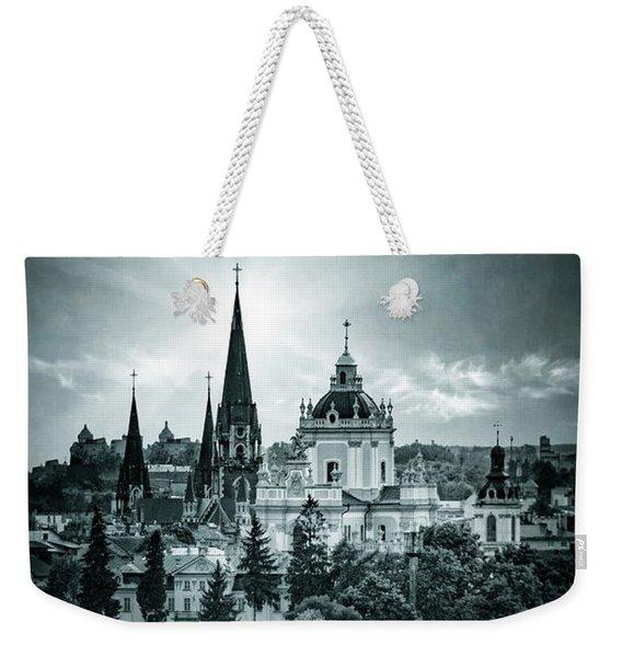 Finding Faith Weekender Tote Bag