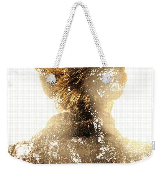 Finding Spirit Within Weekender Tote Bag