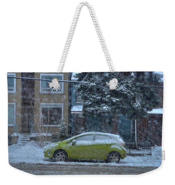 Winter-2014 Weekender Tote Bag