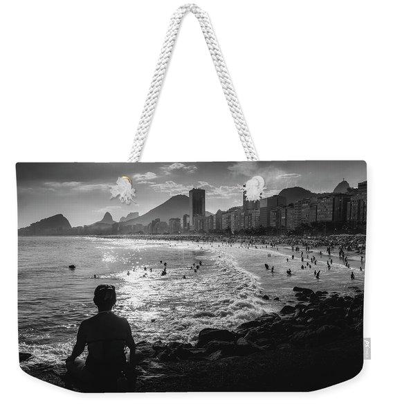 Fine Art Copacabana Rio De Janeiro, Brazil Weekender Tote Bag