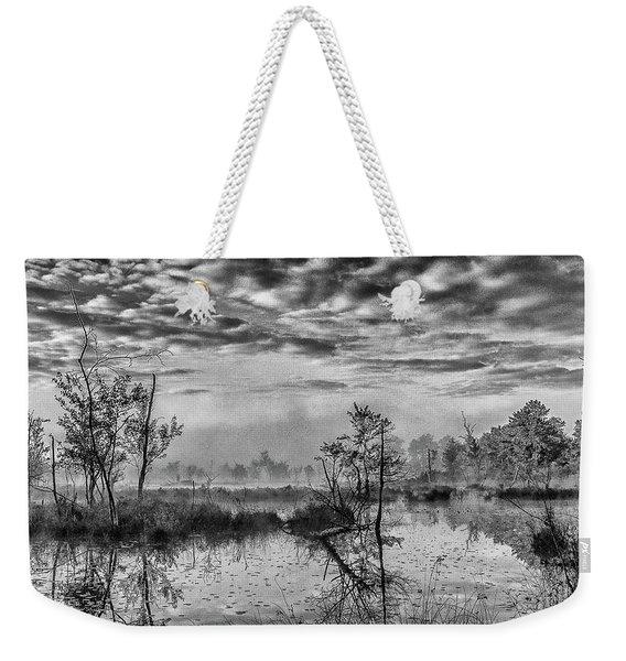 Fine Art Jersey Pines Landscape Weekender Tote Bag