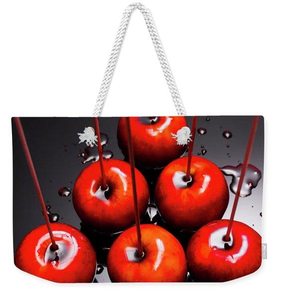 Fine Art Toffee Apple Dessert Weekender Tote Bag