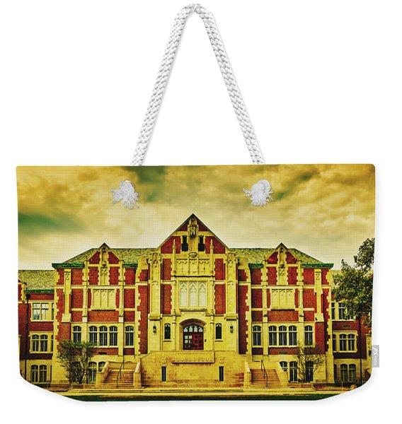 Fine Arts Building - Ball State University Weekender Tote Bag