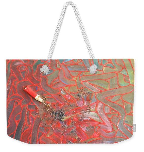 Finger Painting Weekender Tote Bag