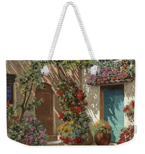 Fiori In Cortile Weekender Tote Bag