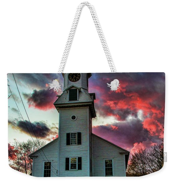 Fire And Brimstone Weekender Tote Bag
