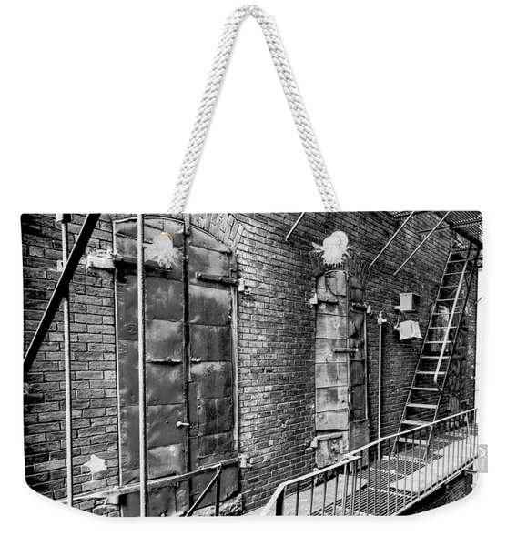 Fire Escape And Doors Weekender Tote Bag
