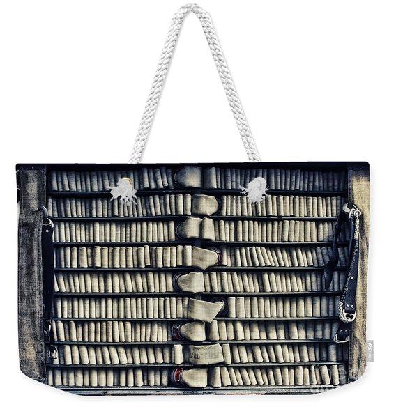 Fire Hose Weekender Tote Bag