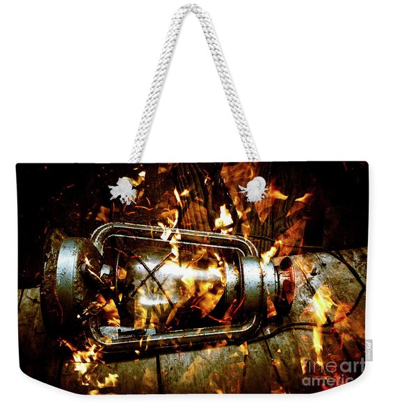 Fire In The Hen House Weekender Tote Bag