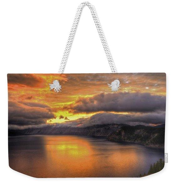 Fire In The Lake #1 Weekender Tote Bag