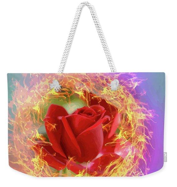 Fire Of Desire Weekender Tote Bag