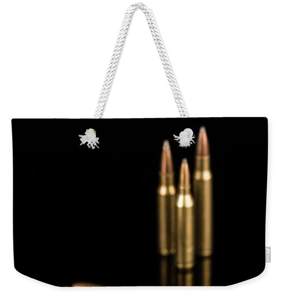 Fire Off Your Guns Weekender Tote Bag
