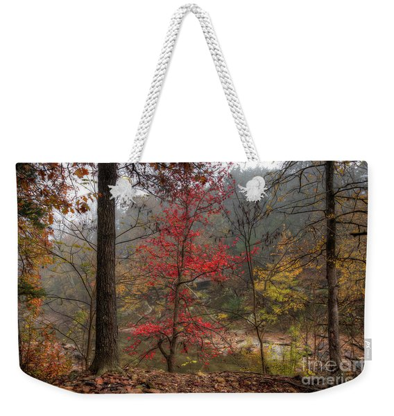 Fire On The Backroads Weekender Tote Bag
