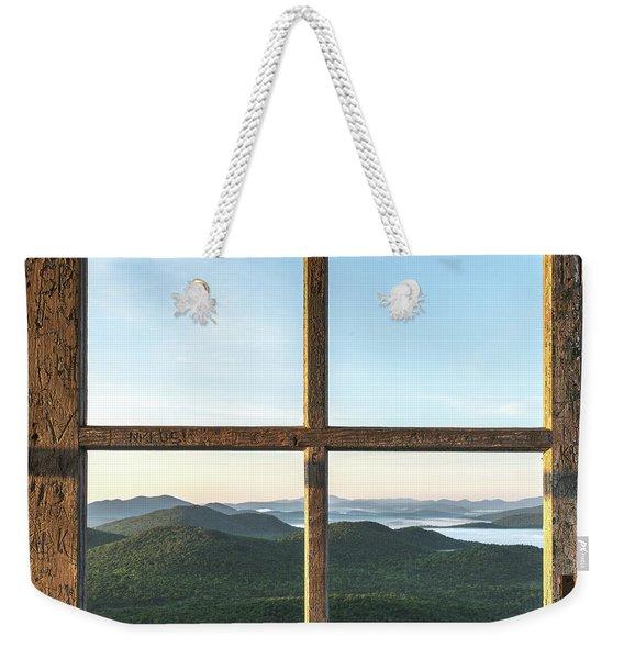 Fire Tower Frame Weekender Tote Bag