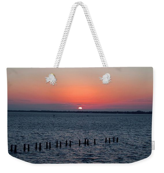 Firefly Finish Weekender Tote Bag
