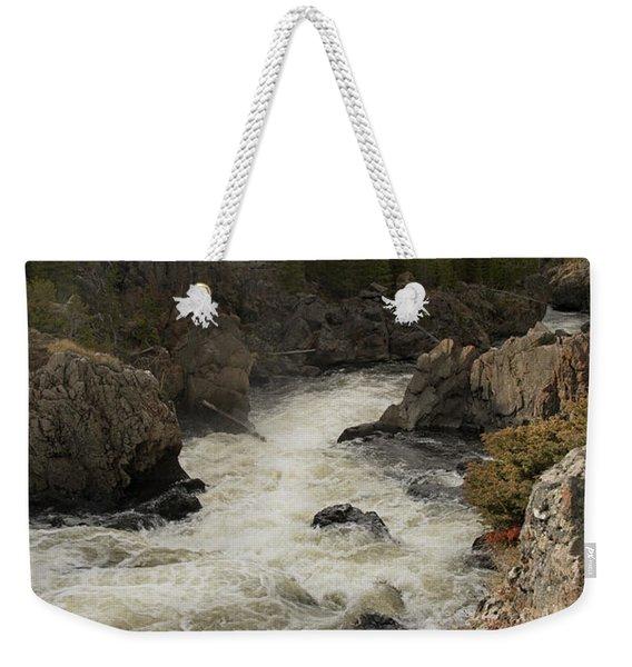 Firehole River Cascade Weekender Tote Bag