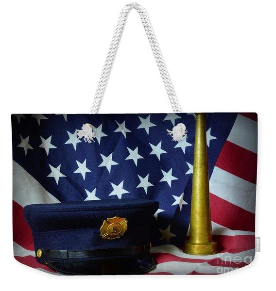 Fireman - American Hero Weekender Tote Bag