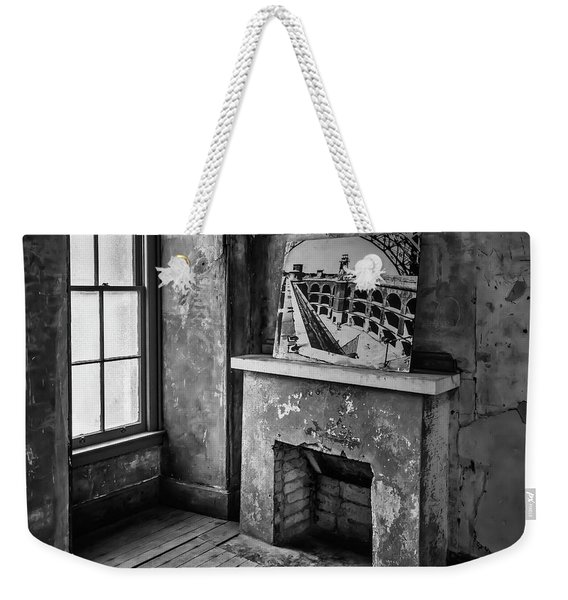 Fireplace Ft Point Weekender Tote Bag