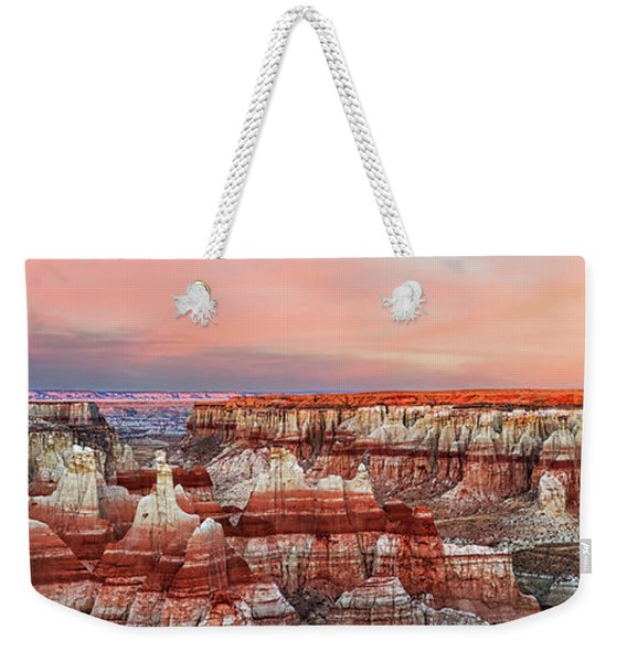Fire's Crater On Earth Weekender Tote Bag