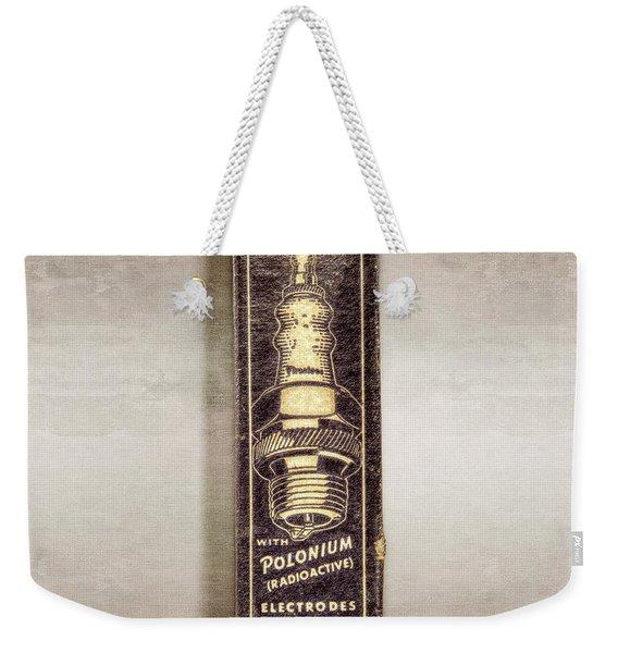 Firestone Polonium Electrodes Box Weekender Tote Bag
