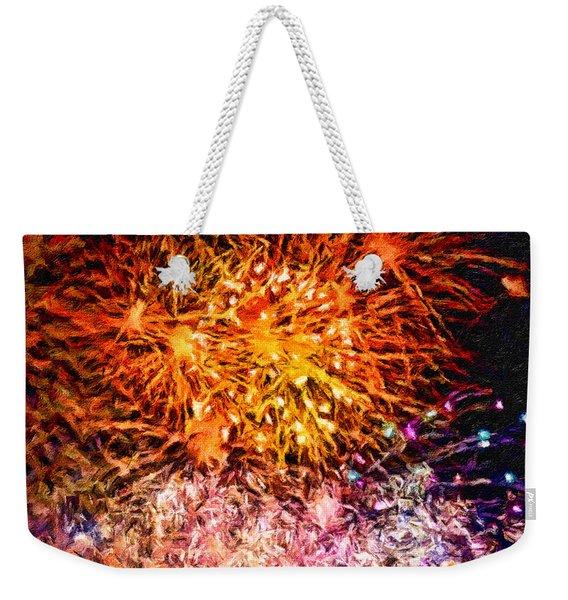 Fireworks 11 Weekender Tote Bag