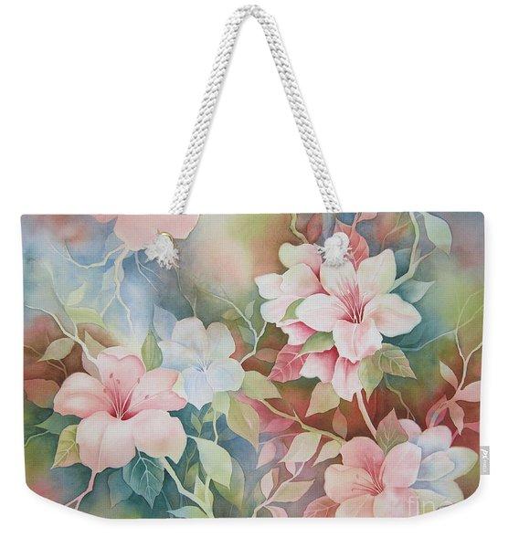 First Blush Weekender Tote Bag