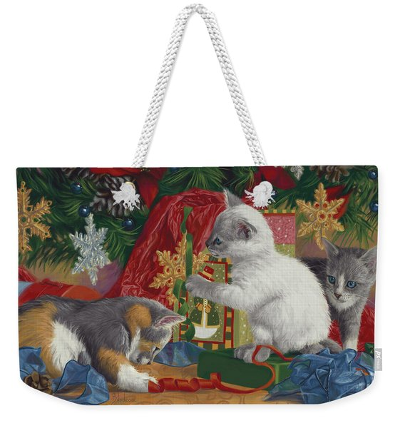 First Christmas Weekender Tote Bag