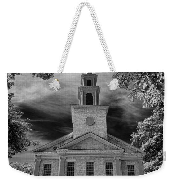 First Congregational Church Of Stockbridge Weekender Tote Bag
