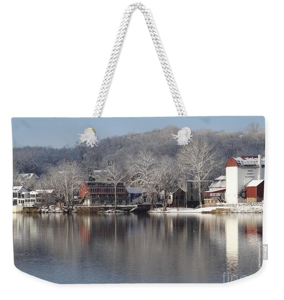 First Day Of Spring Bucks County Playhouse Weekender Tote Bag