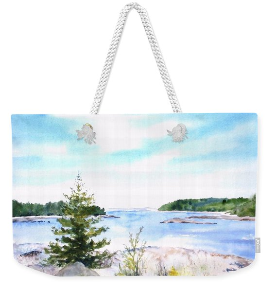 First Impressions, Maine Weekender Tote Bag