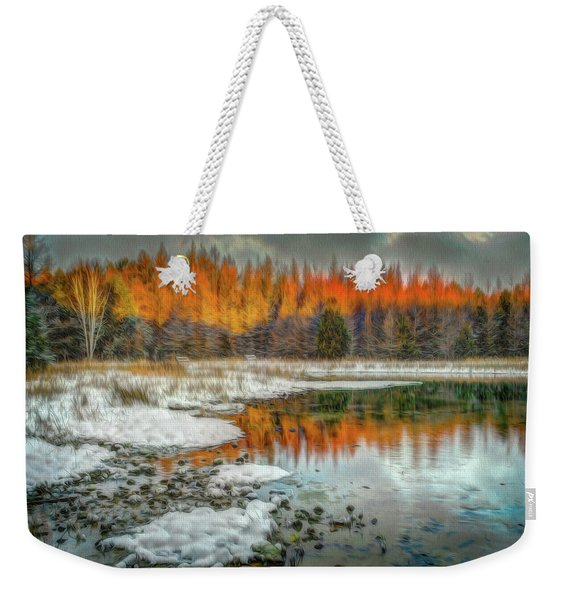 First Light At 3 Springs Weekender Tote Bag