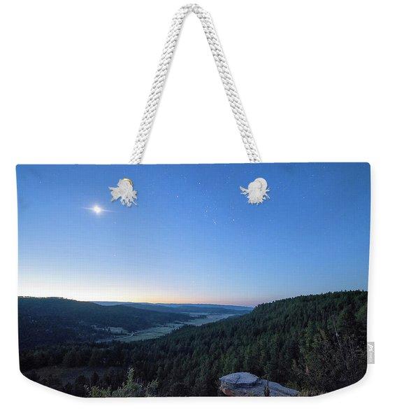 First Light At Salt Creek Weekender Tote Bag