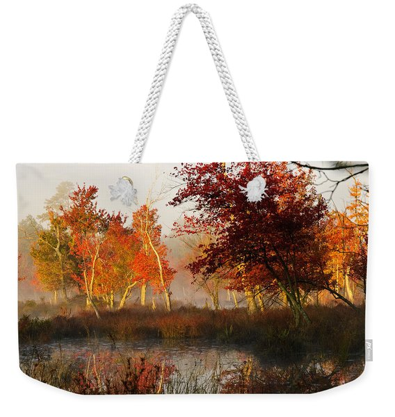 First Light At The Pine Barrens Weekender Tote Bag