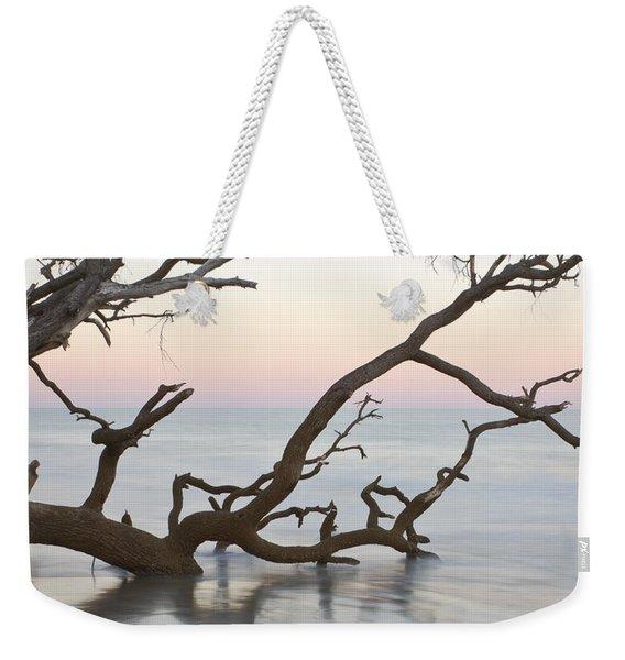 First Light - Hunting Island South Carolina Weekender Tote Bag