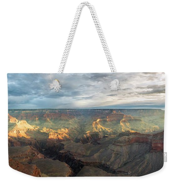 First Light In The Canyon Weekender Tote Bag