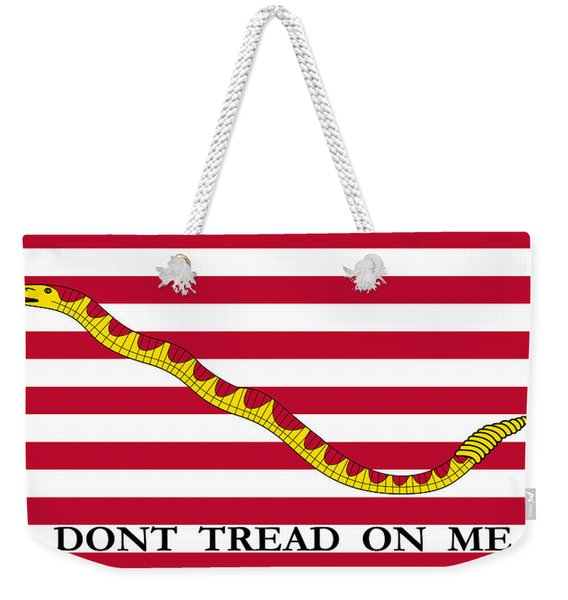 First Navy Jack Weekender Tote Bag