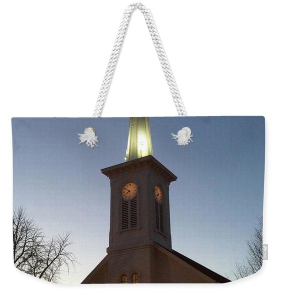 First Presbyterian Churc Babylon N.y After Sunset Weekender Tote Bag