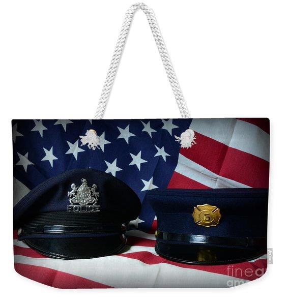 First Responders Weekender Tote Bag