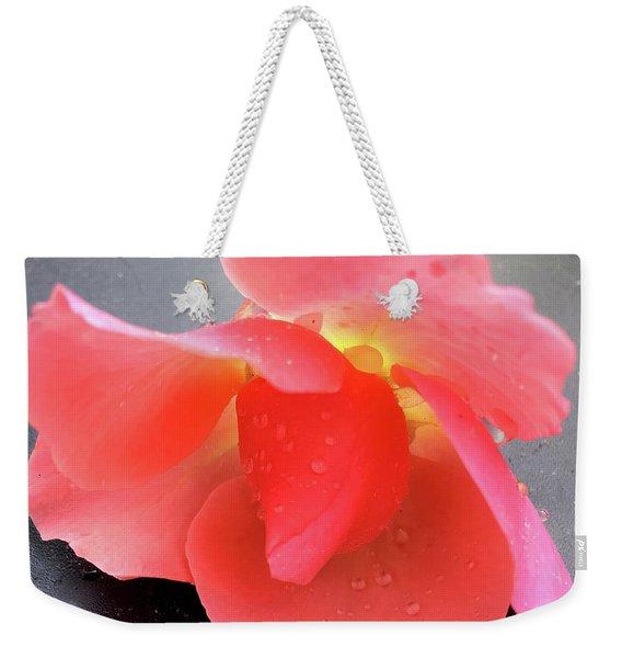 First Rose  Weekender Tote Bag