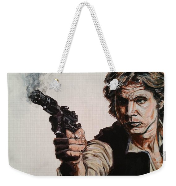 First Shot - Han Solo Weekender Tote Bag